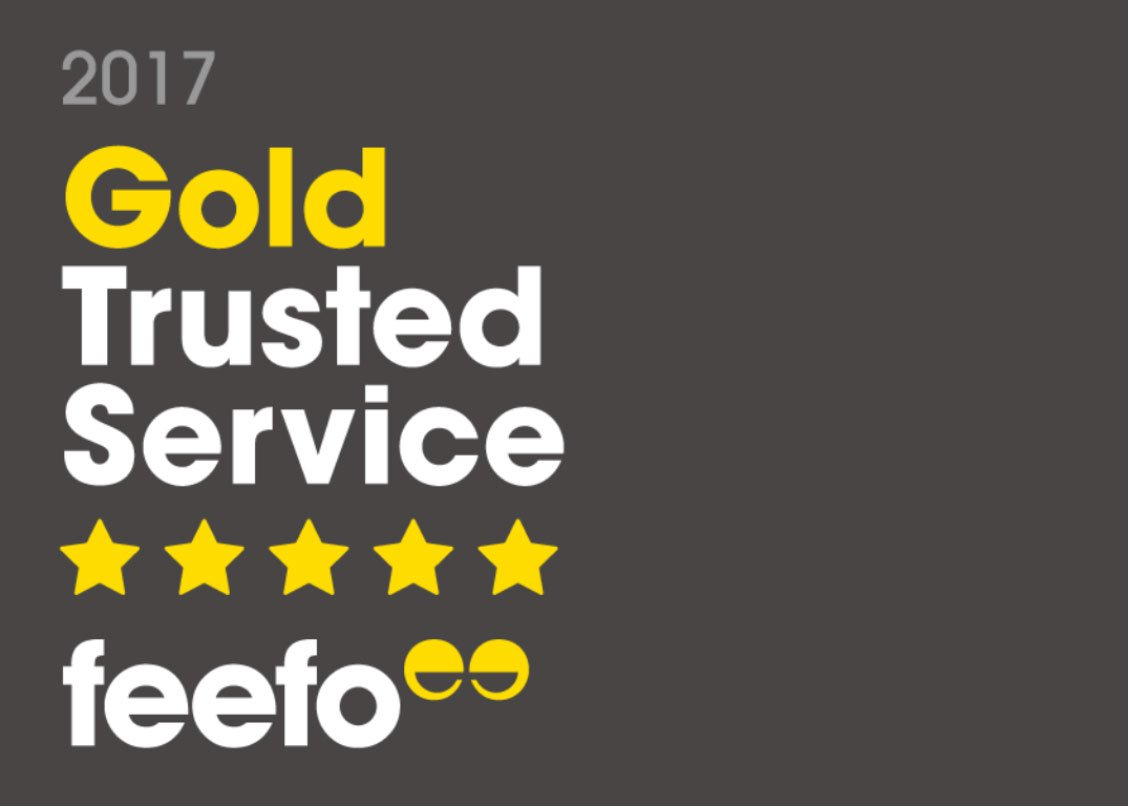 Skipton International awarded Feefo Gold Trusted Service