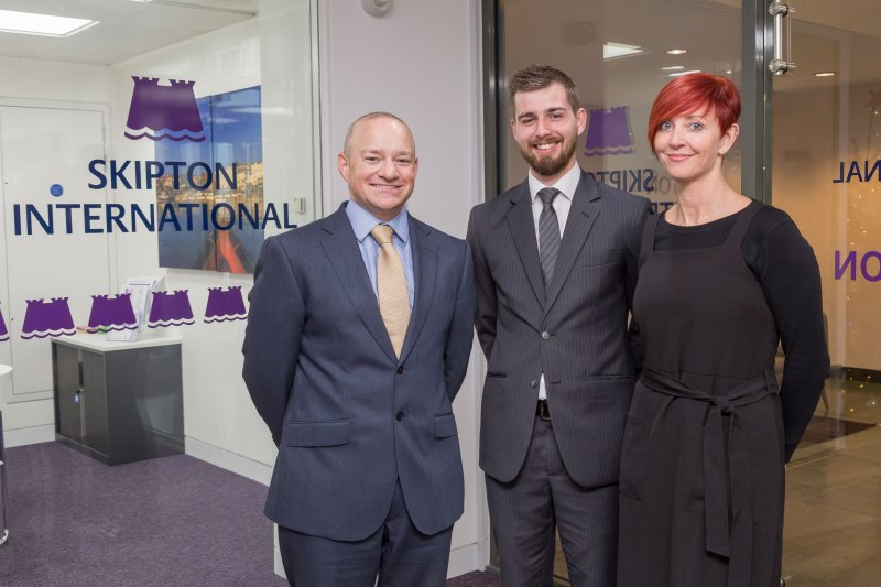 Three new management positions at Skipton International