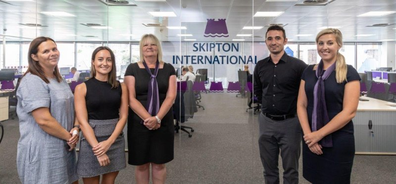 Five new appointments for Skipton International