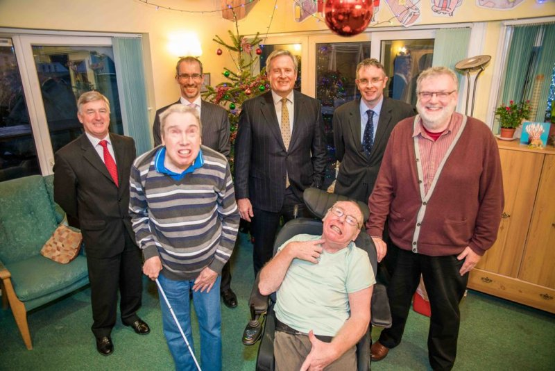 Christmas arrives early for The Guernsey Cheshire Home