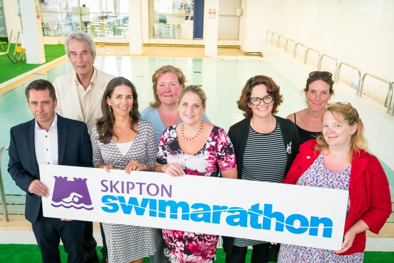 Final call for teams for the 40th Skipton Swimarathon