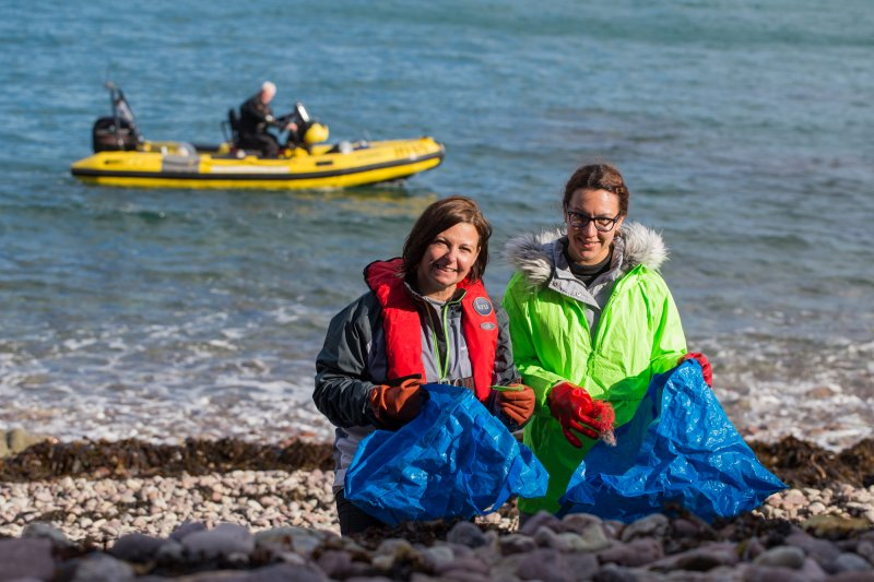 Skipton Community Fund supports clean-up of Jersey's shores