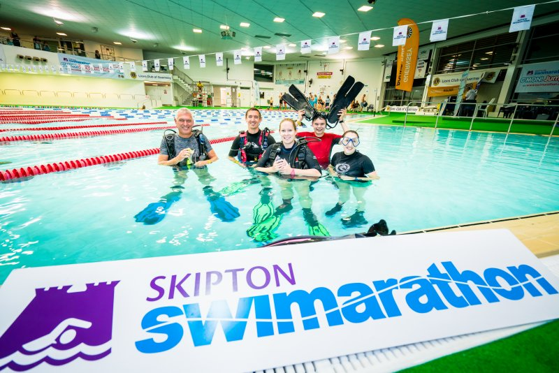 Time to sign up for the Skipton Swimarathon