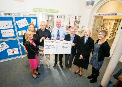 Skipton Swimarathon donate £25,000 to the Children's Library Project