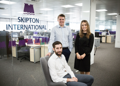 Skipton International's 10th Anniversary supports Liberation Day