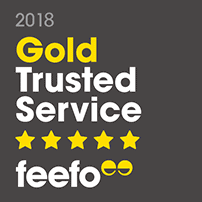 Feefo Gold Award Winner 2018