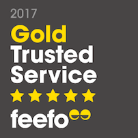 Feefo Gold Award Winner 2017