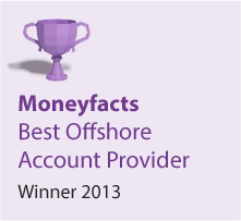 Moneyfacts Awards 2013 - Best Offshore Account Provider - Winner