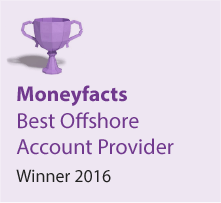 Moneyfacts Awards 2016 - Best Offshore Account Provider - Winner